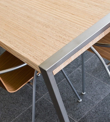 Plexwood® Solid sandwich laminate veneer wood sheets for table tops and small designs