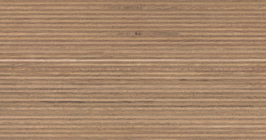 Plexwood® Oak untreated finish, with the finish you determine the end colour of the wood