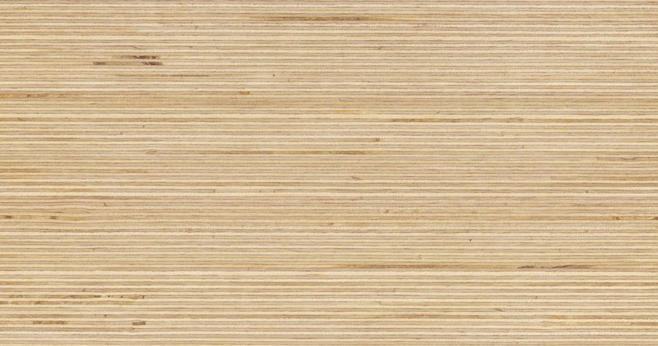 Plexwood® Birch cross-glued plywood veneer composed surfaces for professional interior cladding