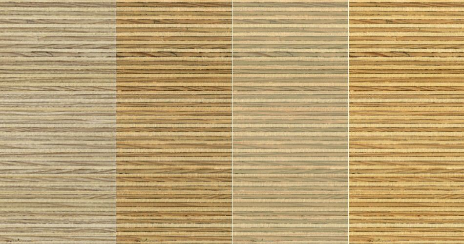 Plexwood® Deal multiplex composites, a combination of finishes on this type of wood