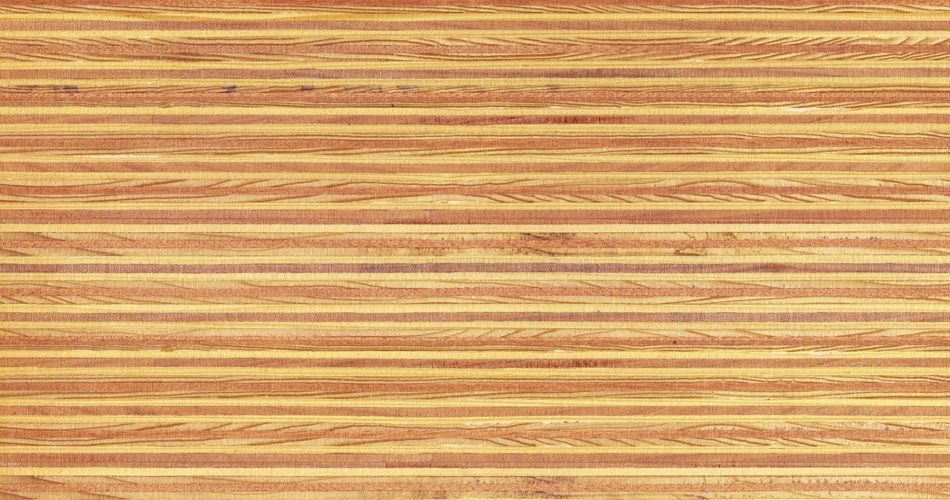 Plexwood® Pine/Ocoumé varnish with priming oil finish, with the type of varnish you determine the final glossiness