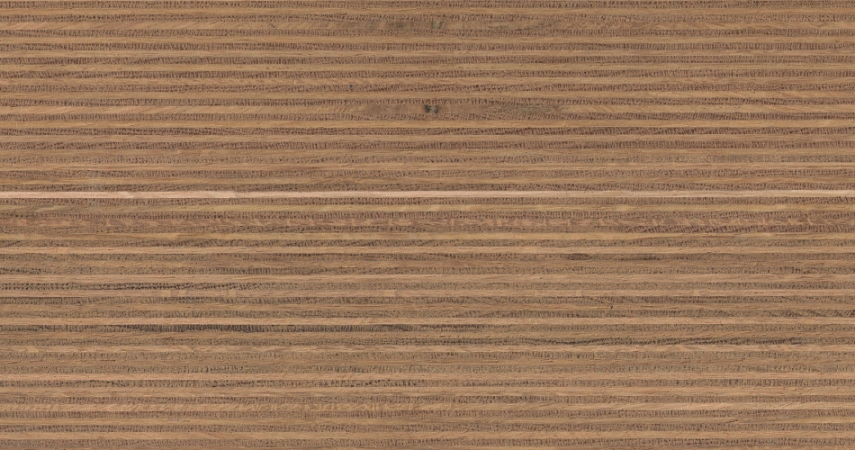 Plexwood® Oak water-based varnish finish, with the type of varnish you determine the final glossiness