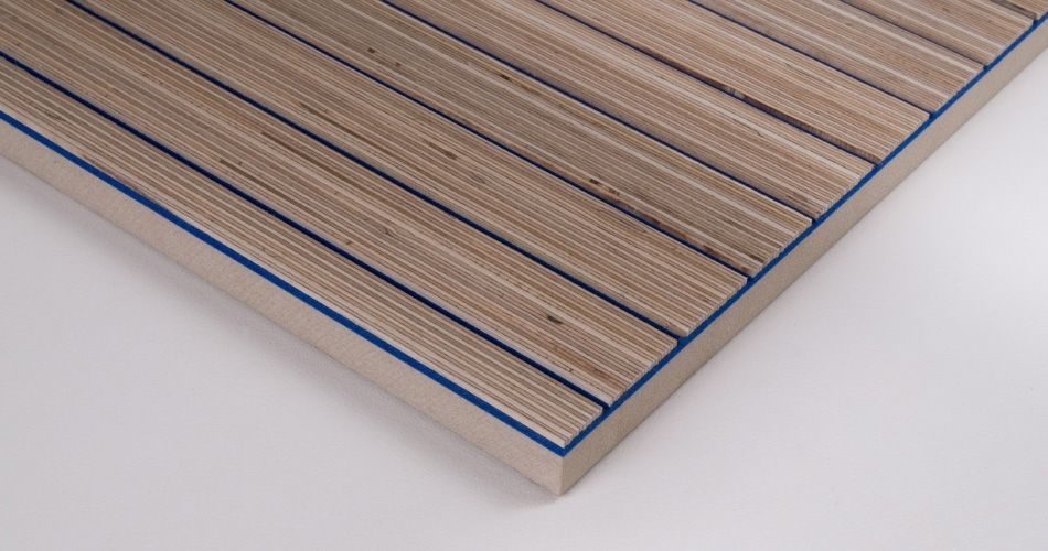 Acoustic wool felt rigid for wall, ceiling and furniture