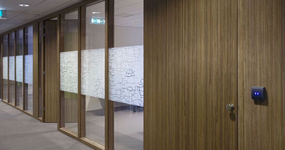 Plexwood® Child Services (Jeugdzorg) Utrecht meranti hall door sustainable institutional interior architectural applications