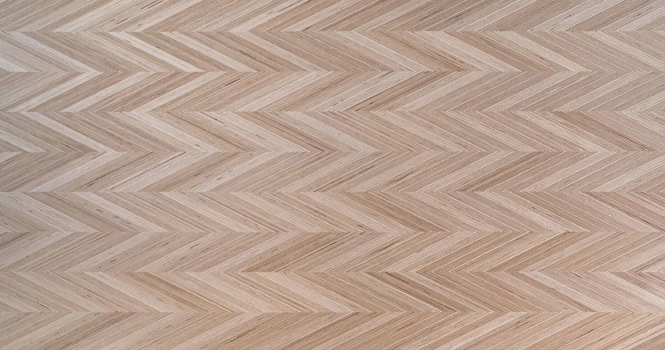 Plexwood® Planks, tiles and panels with herringbone marquetry shapes and designs in angles of 0, 15°, 30° or 45°