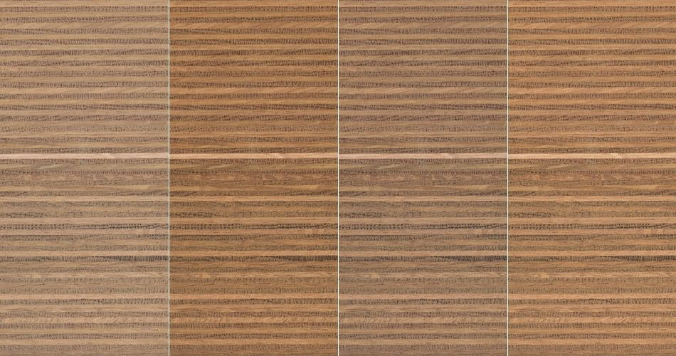 Plexwood® Oak multiplex composites, a combination of finishes on this type of wood