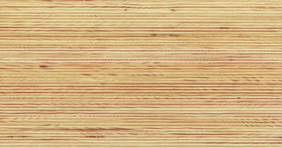 Plexwood® Pine cross-glued plywood veneer composed surfaces for professional interior cladding