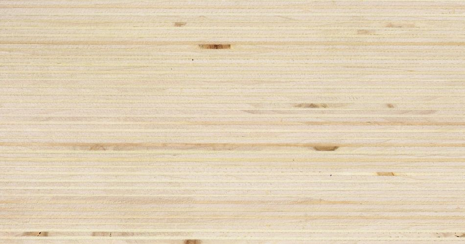 Plexwood® Poplar untreated finish, with the finish you determine the end colour of the wood