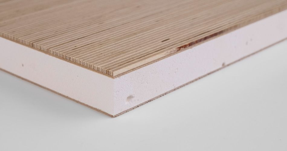 Plexwood® An example of the wide range of production options, for decorative natural architectural materials